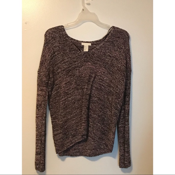 H&M Sweaters - Pink and black sweater